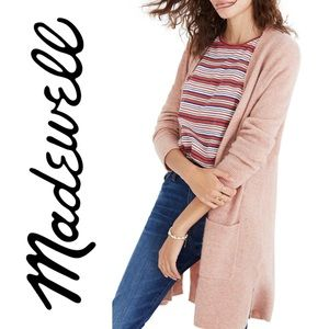 Madewell Kent Cardigan Sweater Open Front Warm